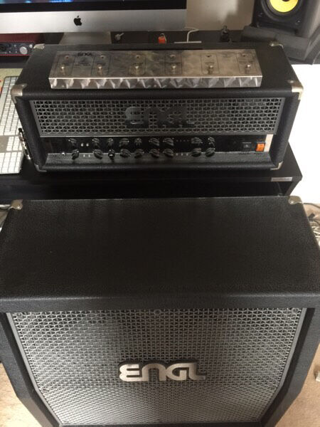 Engl powerball 100 watt valve head, 4x12 custom v30 cab, z-5 foot switch
