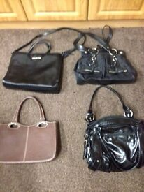 Designer handbags £15 each