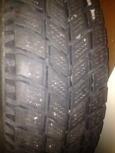 Snow tires 185/65/15 Kitchener / Waterloo Kitchener Area image 3