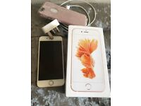 iPhone 6s 64gb unlocked excellent condition 1 year old
