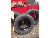 Bridgestone dueller h/t 245/65 R17 111s part worn tyres