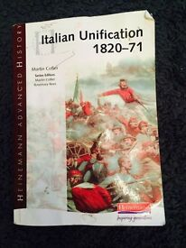 History study guide - Italian Unification