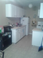 One good size room in 2 bed appt. 495/mo.Bonnie doon avlbl jun30
