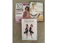 3 Pregnancy fitness dvds