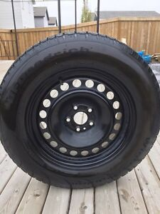 4 Like New BF Goodrich Winter Tires with Rims  Strathcona County Edmonton Area image 1