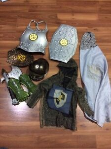 Medieval and knight costumes