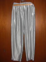 Shiny Silver Pants (size L-XL) as Halloween Costume