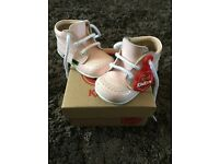 Baby / infant Girls kickers boots UK 3