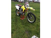 Rmz 250 Suzuki Motorcross Bike