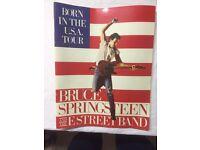 Bruce Springsteen Memorabilia