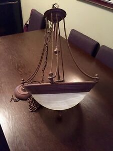 Light fixture - excellent condition (reduced $) London Ontario image 1