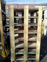 Free Tiered Wooden Pallets / Scrap Wood