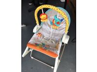 Fisher Price 3 in 1 baby swing and rocker