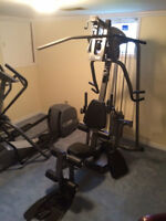 2 Professional Quality Pieces of Exercise Equipment