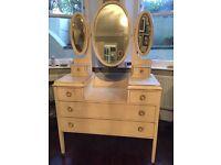 Restored antique style dresser