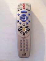 Bell remote control for satellite receivers