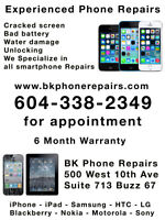iPhone 5C 5S LCD Repair ___6 month warranty $115