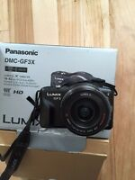 Panasonic Lumix GF-3 and 40-150mm lens