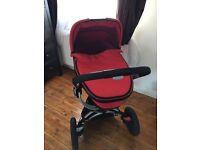 Quinny Buzz 3 in 1 Travel system Pushchair stroller