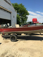 Fishing Boat - Live Well - Lund 16ft   - 3 motors