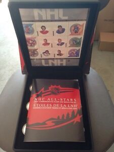 2004 NHL all star coin and stamp set - canada post