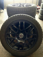 225/50R17 WINTER RUNFLATS AND WHEELS