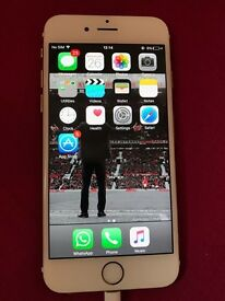 Gold iPhone 6s for sale