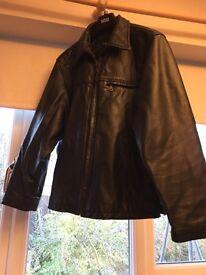 Men's Leather Jacket size 40 Lakeland