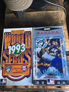 Toronto Blue Jays World Series VHS tapes