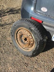 Used Studded Tires w/ Rims