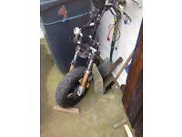 TGB hawk 50cc scooter forks