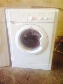 Indesit washing machine 6kg