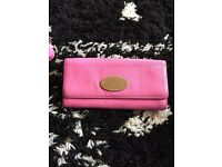 MULBERRY DYED PINK LARGE PURSE