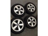 "16"" alloy wheels with new tyres"