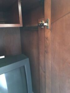 Wood cabinet. Reduced.  London Ontario image 6