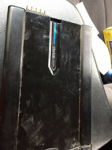 Ken wood subs and box with clarion amp