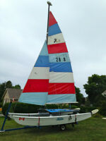 Hobie Cat 16  like **new** super fun, Kincardine, REDUCED PRICE!