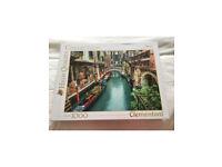 1000 jigsaw - Venice canal