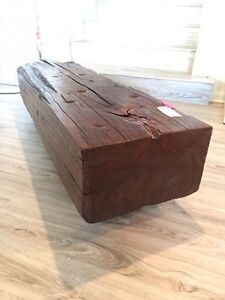 Gorgeous Beam coffee table or bench