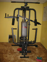 WEIDER HOME GYM 8530,CURLING BENCH AND CURLING BAR OBO