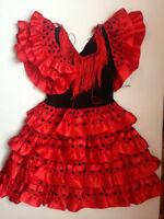 FLAMENCO TODDLER DRESS