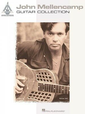 John Mellencamp Guitar Collection Sheet Music Guitar Tablature NEW 000690505