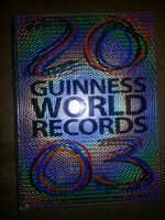 2003 WORLD RECORD BOOK IN GREAT CONDITION ONLY 5$....