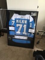 Malkin penguins nhl official jersey autographed with coa