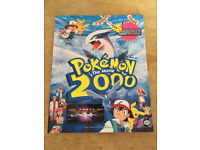 Pokemon 2000 Movie Book