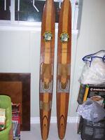 Pair of vintage, Cypress Gardens Water Skis