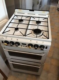 New World Newhome gas cooker, grill and oven