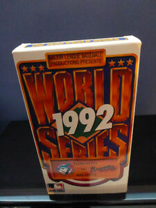 Toronto Blue Jays 1992 World Cup VHS