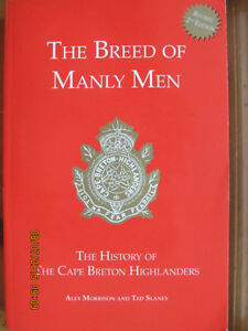The Breed of Manly Men, The History of the Cape Breton Highlande