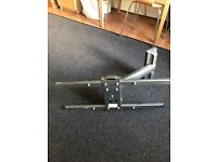 "Heavy duty 60"" TV wall bracket."